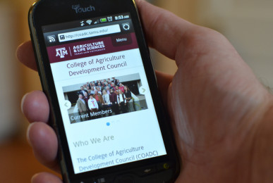 texas-a-and-m-university-mobile-website-on-iphone