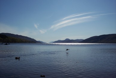 loch-ness-lake-with-ripples